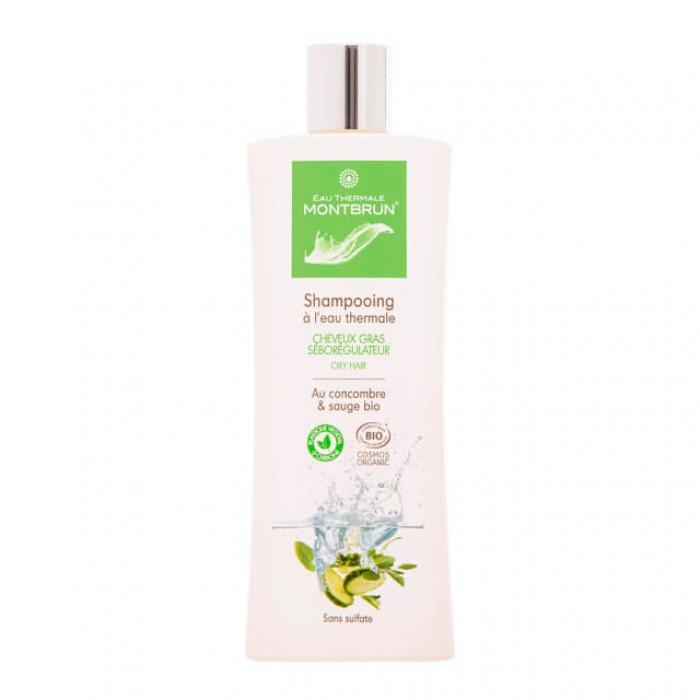 Shampoo capelli grassi con acqua termale - bio - 250 ml