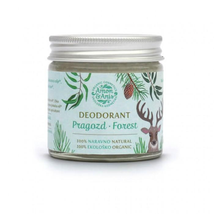 Deodorante foresta rinfrescante - bio - 58ml