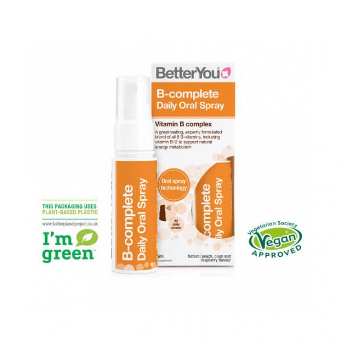 Complesso vitamine B - spray orale - 25ml
