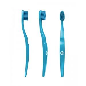 Spazzolino da denti per bambini in bioplastica - blu