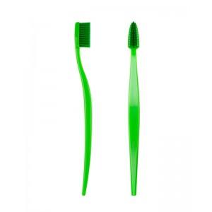 Spazzolino da denti in bioplastica - verde