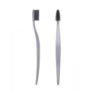 Spazzolino da denti in bioplastica - grigio