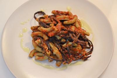 Spaghetti di mare al pomodoro