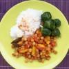 Chili con ceci - Fagiolata di ceci con peperoni