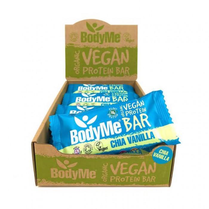 Bodyme Barrette proteiche - chia e vaniglia - bio - 12 pack