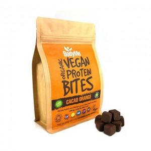 Morsi proteici vegani - cacao e arancia - bio - 500g