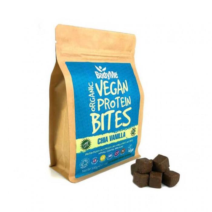 Morsi proteici vegani - chia e vaniglia - bio - 500g