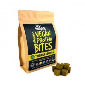 Morsi proteici vegani - curcuma e limone - bio - 500g