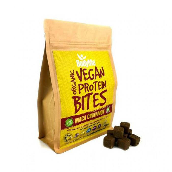 Morsi proteici vegani - maca e cannella - bio - 500g