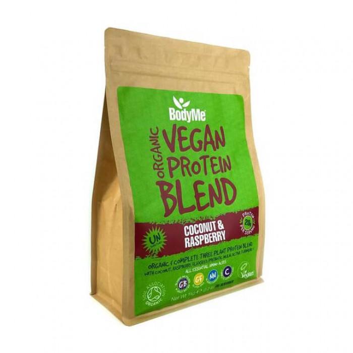 BodyMe Vegan protein blend - cocco e lampone - bio - 1kg