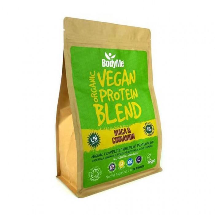 BodyMe Vegan protein blend - maca e cannella - bio - 1kg