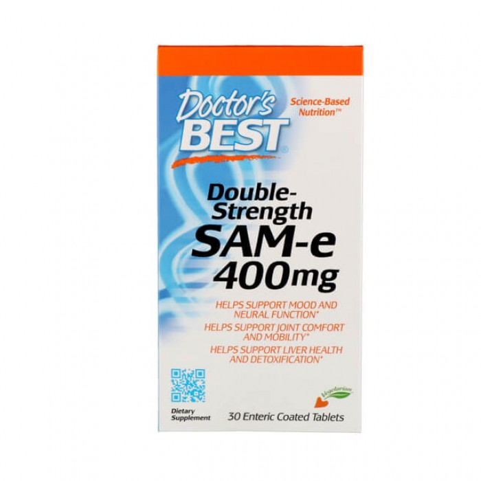 S-Adenosil Metionina - SAM-e - 400mg