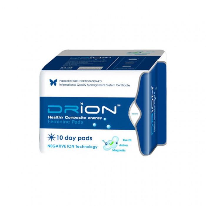 Assorbenti Giorno con ali Drion - biologici a ioni negativi