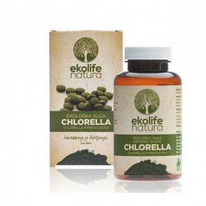 Chlorella in compresse 500mg - bio - 240 tabs