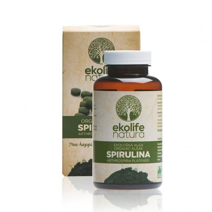 Spirulina in Compresse BIO 500mg - 240tabs