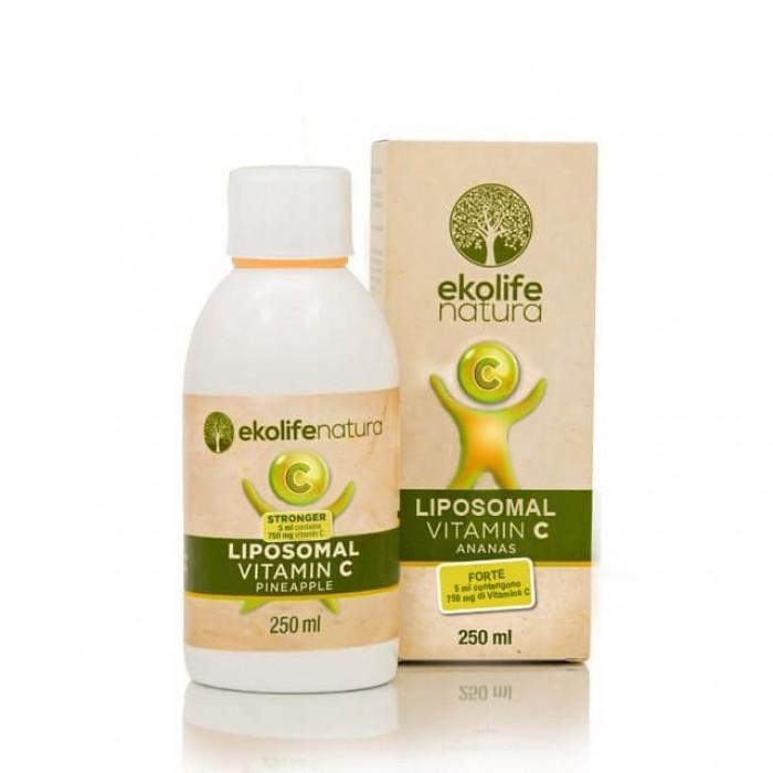 Vitamina C liposomiale forte - ananas - 250ml