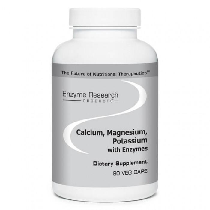 Calcio, magnesio e potassio con enzimi - 90 caps