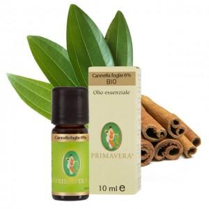 Olio essenziale di cannella foglie 6% - 10ml