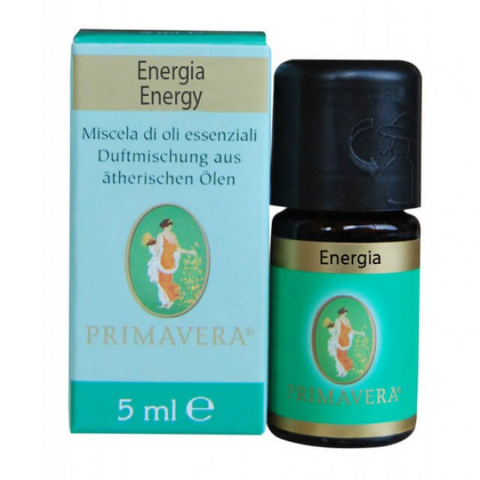 Energia - miscela oli essenziali - rinforzante e fresco - 5ml