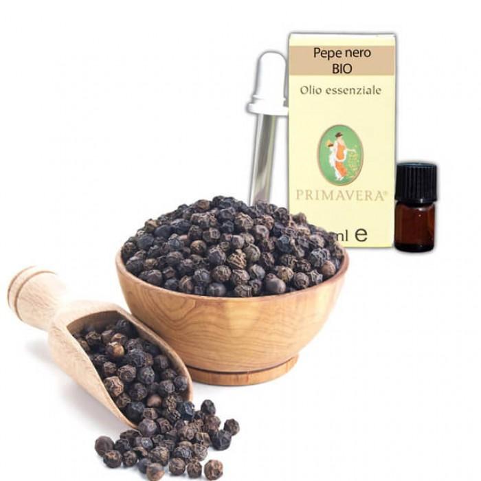 Pepe nero - Olio essenziale - Bio - 1ml