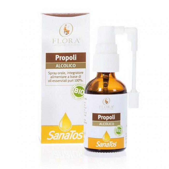 Propoli spray orale - Bio - 30ml (alcolico)