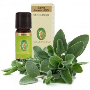 Olio essenziale di salvia - Demeter - 10ml