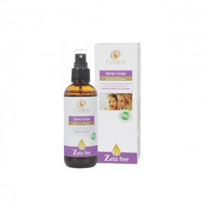 Spray corpo repellente zanzare - bio - 100ml