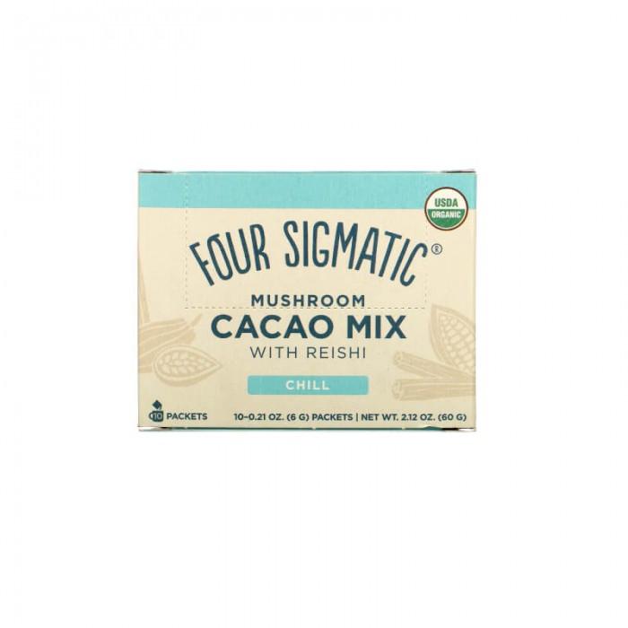 Mushroom cacao mix con reishi - bio - 10 bustine