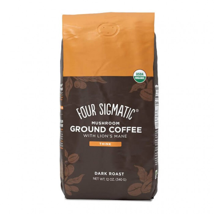 Mushroom ground coffee con hericium e chaga - bio - 340g