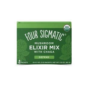 Chaga mushroom elixir - bio - 20 bustine