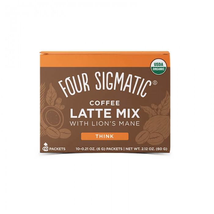 Coffee latte mix con hericium e chaga - bio - 10 bustine