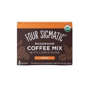 Mushroom coffee mix - hericium e chaga - bio - 10 bustine