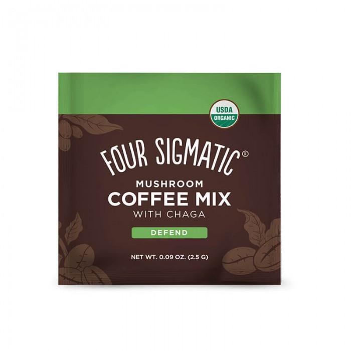 Mushroom coffee mix con chaga e cordyceps - bio - 10 bustine