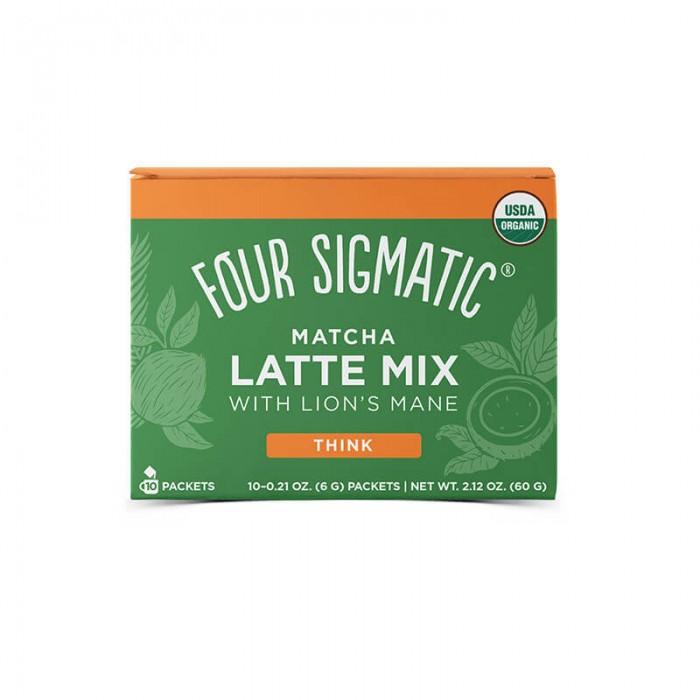 Matcha latte mix con hericium erinaceus - bio - 10 bustine