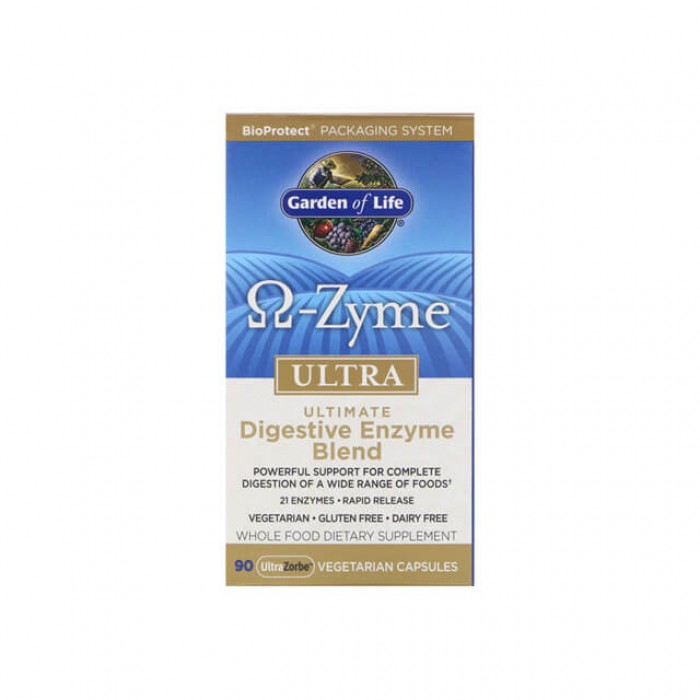 Enzimi digestivi Omega Zyme Ultra - 90 caps