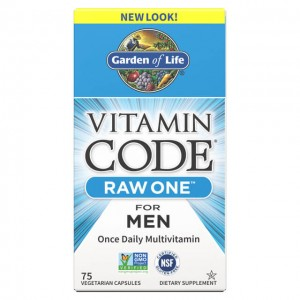 Raw One Men - Multivitaminico uomo - 75 caps