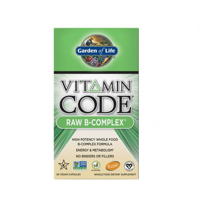 Vitamin code raw B-complex - 60 caps