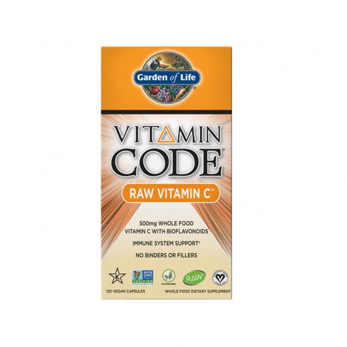 Vitamin Code Raw Vitamin C - 500mg - 120 caps