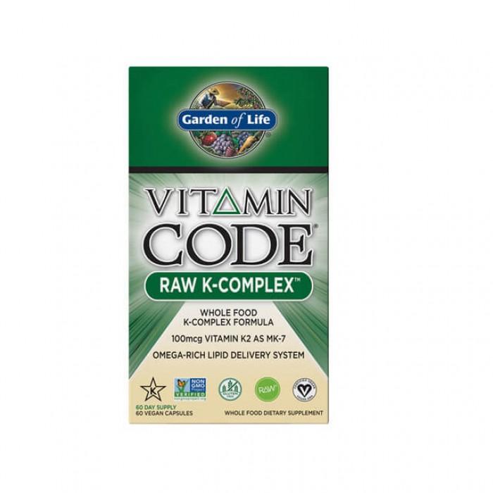 Vitamin code raw K-Complex - Complesso Vitamina K - 60 caps