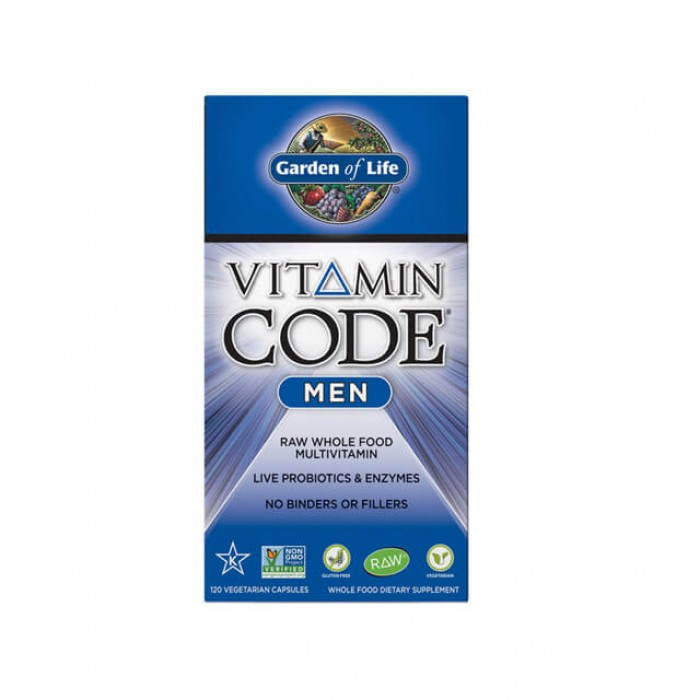 Vitamin Code Men - multivitaminico uomo - 120 caps