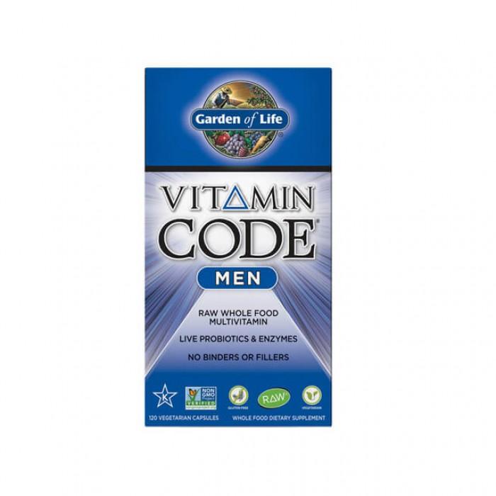 Vitamin code men - multivitaminico uomo - 120 caps