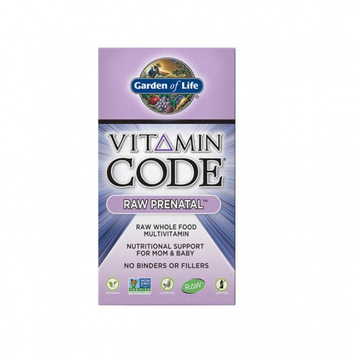 Vitamin code raw prenatal - multivitaminico prenatale - 30 caps
