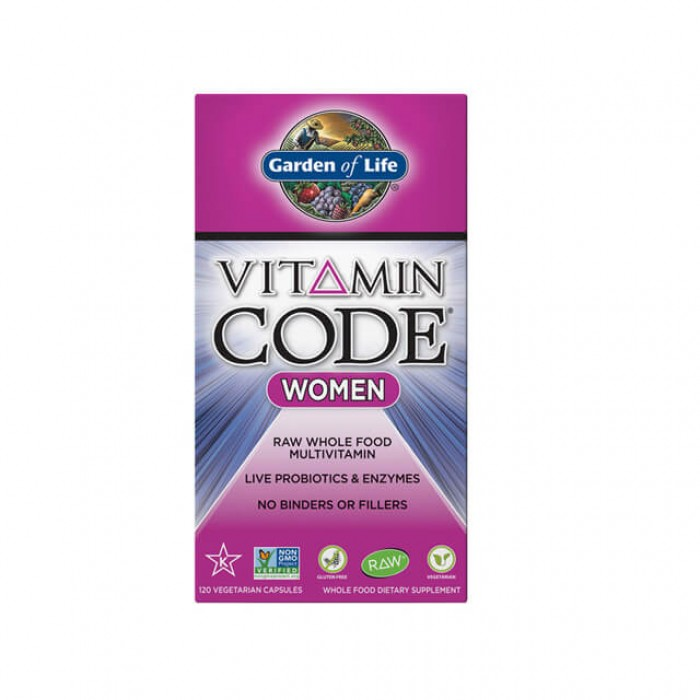 Vitamin code women - multivitaminico donna - 120 caps