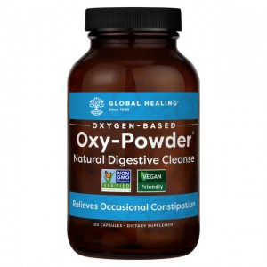 Oxy Powder - Pulizia intestinale a base di ossigeno - 120 caps
