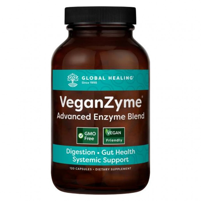 Veganzyme - Enzimi digestivi - 120 caps