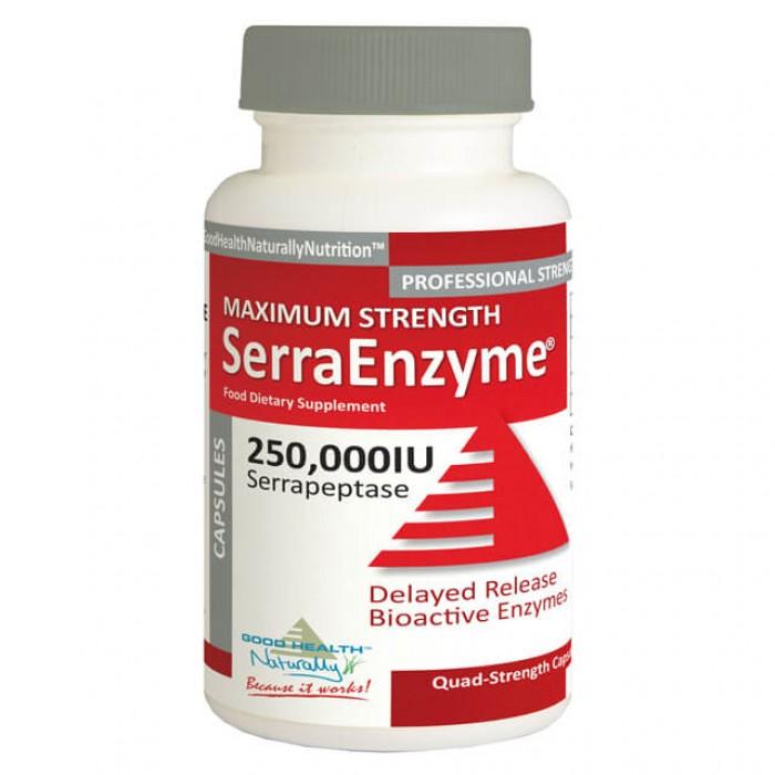 Serrapeptasi - 250,000 IU - Massima potenza - 30 caps