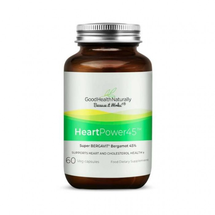 HeartPower45 - super bergavit® bergamotto 45% - 60 caps