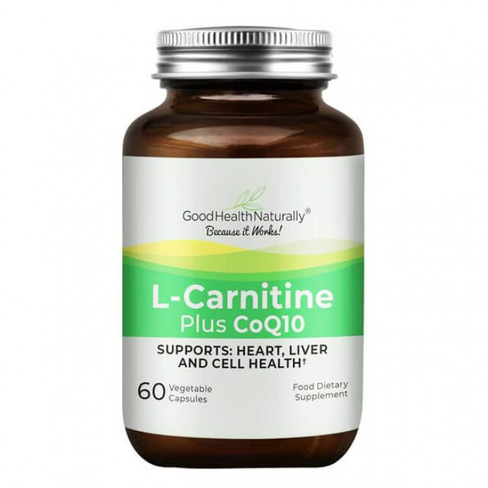L-Carnitine plus con coenzima Q10 - 60 caps