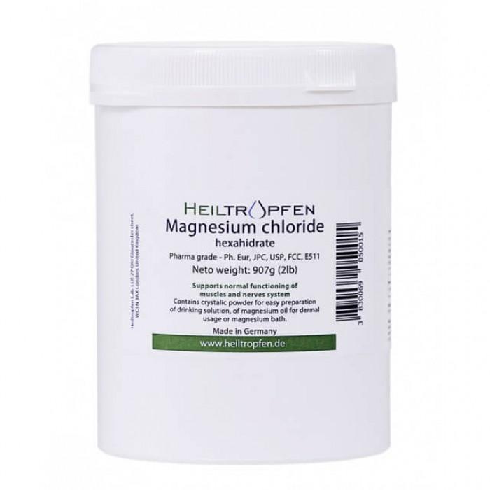 Cloruro di magnesio esaidrato in polvere - 907g