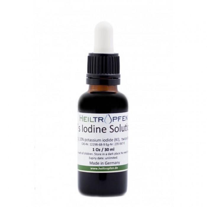 Soluzione di iodio 5% Lugol - 30ml